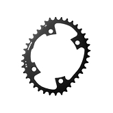 110 BCD  Single Inner Chainring  Fits: Shimano 6800 & 9000 4 arm cranksets only