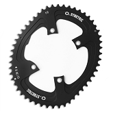 110 BCD  Single Outer Chainring Fits: Shimano 4 arm for 9100 & 8000